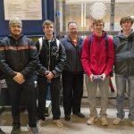 Meridian's Pre-Engineering Team Tests Capstone Project — Football Tee Design Outperforms Standard Tee in Wind Tunnel Test